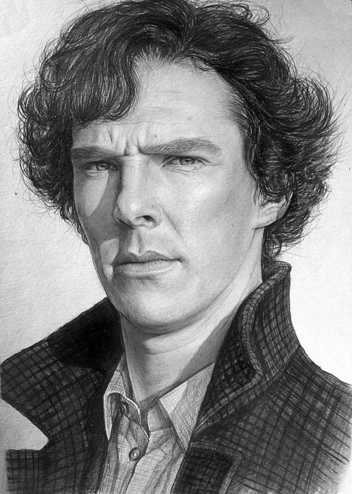 Benedict Cumberbatch por Lazzzy